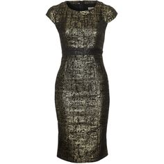 Fever London Shift dress ($97) ❤ liked on Polyvore