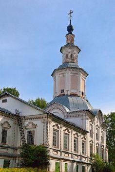 Église de la Présentation du Seigneur - Veliki Oustioug - Construite 1725 à 1740.