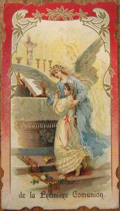 First Communion, girl