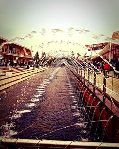 Giochi d'acqua . #fontane #fontana #giochidacqua #acqua #watergame #water #vivomilano #milano #milan #milano2015 #expo #expo2015 #milanodavedere #expomilan #follow #like4like #follow4follow #likeforfollow by carlottatetoldini