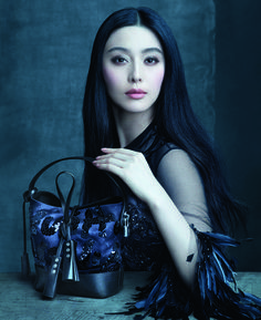 Fan Bingbing for Louis Vuitton's Spring 2014 campaign.