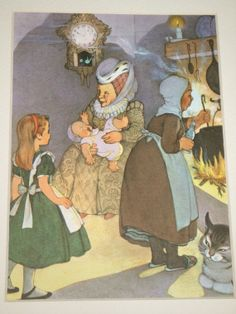 Alice in Wonderland The Duchess and The Baby 1957 by MayIQuoteYou, $10.00