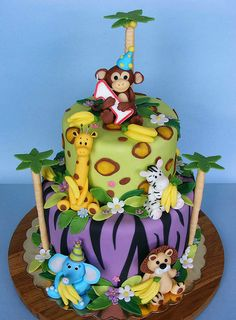 :-D        Bananas for Monkey's first Bday! by bubolinkata, via Flickr