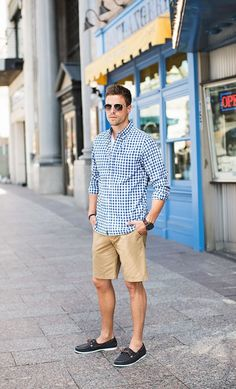 This outfit is very much his style/go to outfit for dressing up in the summer #MensFashionShorts #MensFashionPreppy