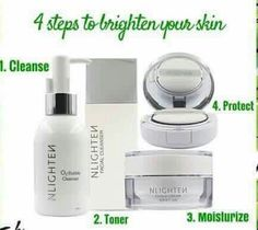 Nlighten Products, Beauty Products, Skin Cleanse, Whitening, Health Care, Moisturizer, Skincare, English, Makeup