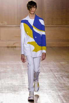 Chromatic Kaleidoscope Runways : Dsquared2 Spring/Summer 2015