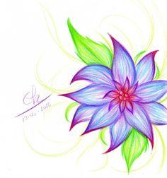 An Exotic Flower By Berichan On Deviantart