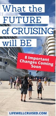How will cruises change to meet the safety needs as well as make sure cruising is fun and enjoyable? Here are 8 important confirmed changes to know about for future cruise travel. #cruise #cruisetips #cruising #cruisetravel Cruise Packing Tips, Cruise Travel, Cruise Vacation, Cruise Ship Reviews, Best Cruise Ships, Transatlantic Cruise, Carnival Cruise Ships, Norwegian Cruise Line, Cruise Destinations