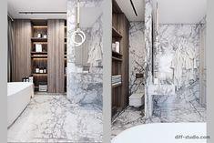 Enhance Your Senses With Luxury Home Decor Luxury Homes Interior, Luxury Home Decor, Rustic Bathrooms, Modern Bathroom, Modern House Design, Modern Interior Design, Interior Ideas, London Apartment Interior, Bathroom Design Inspiration