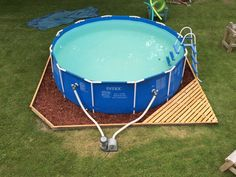 Landscaping around base of Intex Ultra Frame pools - Page 7
