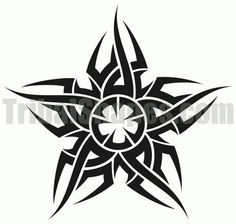 Free tribal tattoo design for 'Star Find more Celestial bodies tattoos on this category full of tribal designs! Anime Tattoos, Star Tattoos, Body Art Tattoos, Tattoo Stencils, Stencil Art, Tribal Cross Tattoos, Stammestattoo Designs, Cool Symbols, Sun Tattoo Designs