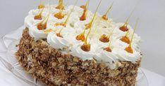 tort de ciocolata cu crema de lapte, tort cu blat de ciocolata Romanian Desserts, Romanian Food, Sweets Recipes, My Recipes, Pastry Cake, Fancy Cakes, Caramel Apples, Chocolate Cake, Bakery