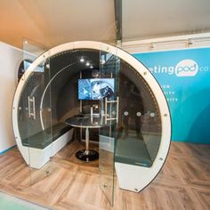 The Meeting Pod Company offers a range of pods, including escape pods, modular pods, seating pods and multi-story Hive Pods. Commercial Furniture, Beer Garden, Packing Light, Exterior Colors, Flexibility, Garden Design, Upholstery, Range, Indoor