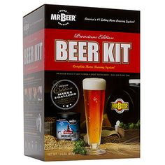 Mr Beer Home Brew Kit - $25 from Target #MacquarieCentre #Christmas #forhim
