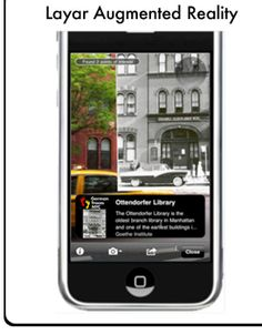 NYC German Traces - Layar Augmented Reality
