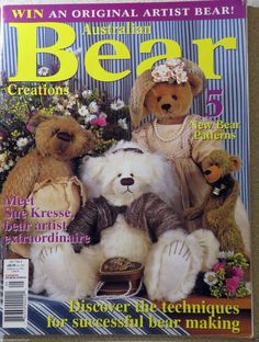 Australian Bear Creations  vol.8 no.1 Collectable back issue #AustralianBearCreations