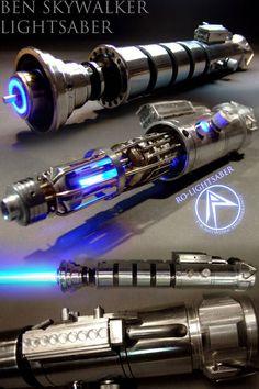 Buy Star Wars Ben Skywalker Lightsaber at Wish - Shopping Made Fun Lightsaber Parts, Skywalker Lightsaber, Lightsaber Design, Custom Lightsaber, Lightsaber Hilt, Star Wars Jedi, Rpg Star Wars, Star Wars Fan Art, Star Wars