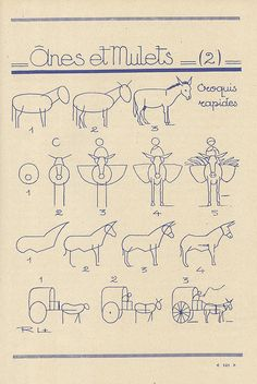 Les Animaux (how to draw)