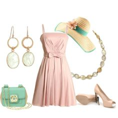 Women Southern Style Easter outfit