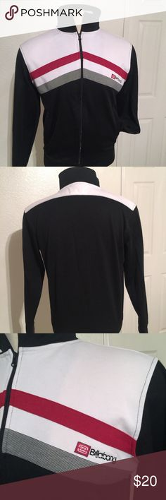 Men's Billabong Track Jacket Size Large Preowned and in like new condition. Men's size Large. Billabong Jackets & Coats