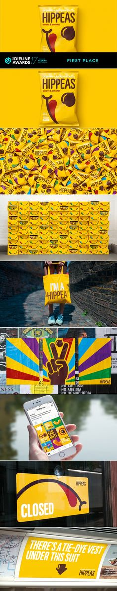 The Dieline Awards 2017: Hippeas: Give Peas a Chance — The Dieline | Packaging & Branding Design & Innovation News