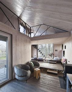 Sustainable Family Dwelling in Bohemia Surrounded by Nature: Zilvar House - http://freshome.com/sustainable-family-dwelling-bohemia-surrounded-by-nature-zilvar-house