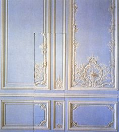 (Source: royalversailles) I know this is Versailles, but the point is - if a door is not important, hide it.