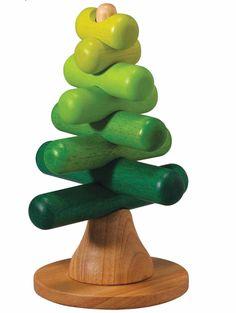 Juguete de madera puzzle arbol 3D