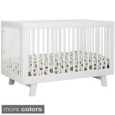 Babyletto Hudson White 3-in-1 Convertible Crib $379