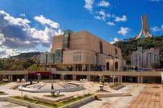 Bibliothèque Nationale d'Alger - Photo by Rachik Bouanani