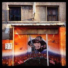 Crystal Palace, Godzilla, Graffiti, Street Art, British, England, App, London, Instagram Posts