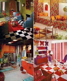 #retro #funky #decor #interior (seen by @Edytheeiv694 )
