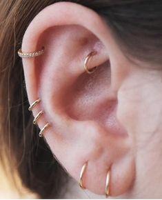 94e2c47d5542 Las 122 mejores imágenes de •Ideas para piercing en oreja•