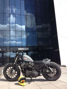 Bratted Sportster