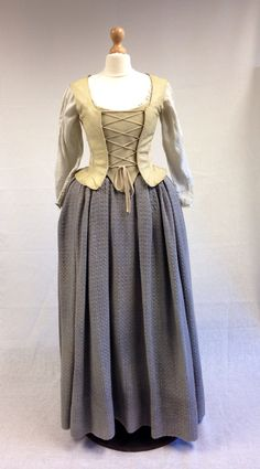 Geillis (Lotte Verbeek) Dress from Outlander on Starz on Terry Dresbach's blog