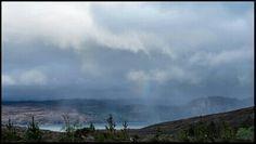 Shower rain - Arrina Loch Torridon