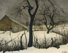 Winterinbrabant by Jos Albert (1886 - 1981)