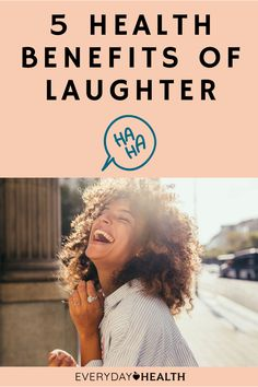 Laughter can help you de-stress and stay happy.