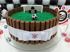 """Outstanding """"birthday desserts easy"""" information is offered on our web pages. Check it out and you wont be sorry you did. Soccer Birthday Cakes, Football Birthday, Birthday Desserts, Soccer Party, Soccer Cakes, Sport Cakes, Novelty Cakes, Cakes For Boys, Creative Cakes"""