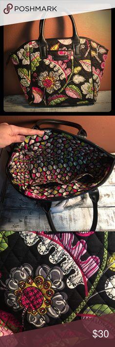 "Selling this Vera Bradley ""Moon Blooms"" Purse on Poshmark! My username is: mdelong121. #shopmycloset #poshmark #fashion #shopping #style #forsale #Handbags"
