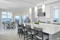 Quality Custom Kitchen Cabinets - Transitional - Kitchen - by Parand Design Ltd Custom Kitchen Cabinets, Water, Table, Furniture, Design, Home Decor, Gripe Water, Decoration Home, Room Decor