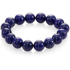 Nest Lapis Beaded Stretch Bracelet (86 CAD) ❤ liked on Polyvore featuring jewelry, bracelets, accessories, apparel & accessories, purple, beading jewelry, purple jewelry, beaded jewelry, beaded bangles and purple bracelet