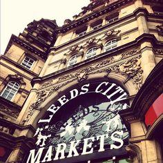 Leeds Kirkgate Market in Leeds