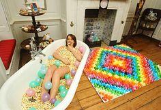cake hotel à Londres_hôtel fait de bonbons