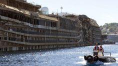 #Cronaca #CostaConcordia, il sopralluogo di magistrati e periti sulla nave