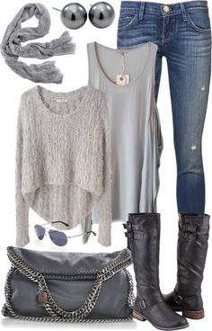 Fall Fashion - 20 Fashion Outfits that you can put together with cardigans…