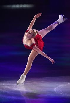 Gracie Gold of USA performs her routine during THE ICE 2014 at the White Ring on July 19, 2014 in Nagano, Japan. (July 18, 2014 - Source: Atsushi Tomura/Getty Images AsiaPac)  (697×1024)
