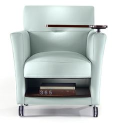 EKO Contract   Hypate Tablet Arm Chair (with Or Without Bookshelf)