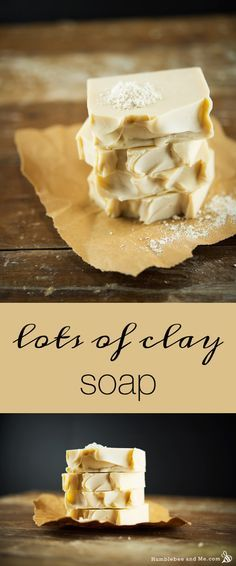 What happens when you add 10x more clay than usually recommended for CP soaps? You get an extra creamy bar of soap that's super luxurious!