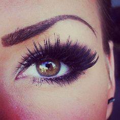 """Eye Make-Up: how to get that """"kardashian"""" eye Eye Makeup, Kiss Makeup, Makeup Tips, Makeup Contouring, Makeup Ideas, Makeup Mascara, 3d Mascara, Brown Makeup, Fall Makeup"""